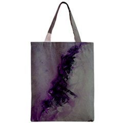 The Power Of Purple Zipper Classic Tote Bags