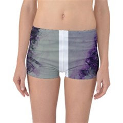 The Power Of Purple Reversible Boyleg Bikini Bottoms