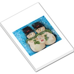 Snowman Family Large Memo Pads