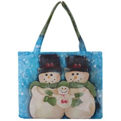 Snowman Family Tiny Tote Bags