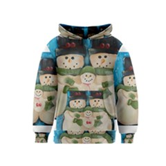 Snowman Family Kid s Pullover Hoodies