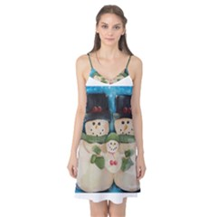 Snowman Family Camis Nightgown