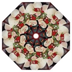 Snowman Family No. 2 Folding Umbrellas