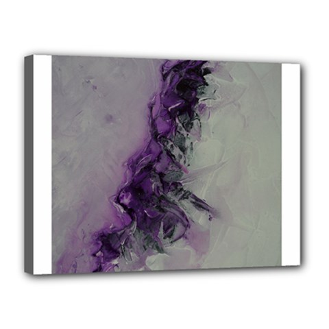 The Power Of Purple Canvas 16  X 12