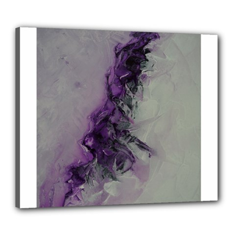 The Power Of Purple Canvas 24  X 20
