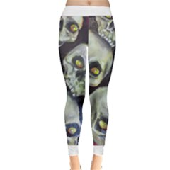 Halloween Skulls No.1 Women s Leggings