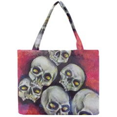 Halloween Skulls No.1 Tiny Tote Bags