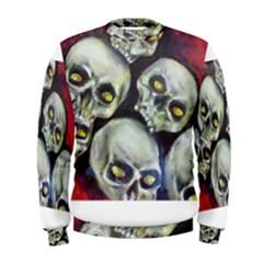 Halloween Skulls No.1 Men s Sweatshirts