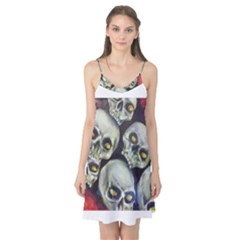 Halloween Skulls No 1 Camis Nightgown