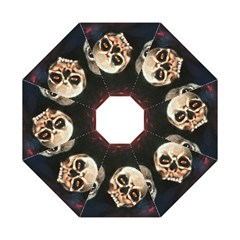Halloween Skulls No. 2 Folding Umbrellas