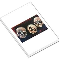 Halloween Skulls No. 2 Large Memo Pads