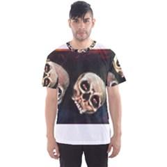 Halloween Skulls No. 2 Men s Sport Mesh Tees