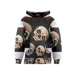 Halloween Skulls No. 2 Kid s Pullover Hoodies