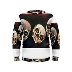 Halloween Skulls No. 2 Boys  Sweatshirts