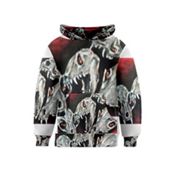 Halloween Skulls No  3 Kid s Pullover Hoodies