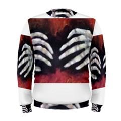 Halloween Bones Men s Sweatshirts