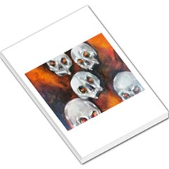 Halloween Skulls No. 4 Large Memo Pads
