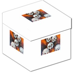Halloween Skulls No. 4 Storage Stool 12