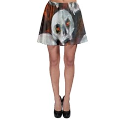 Halloween Skulls No. 4 Skater Skirts