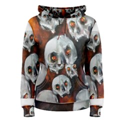 Halloween Skulls No. 4 Women s Pullover Hoodies