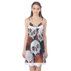 Halloween Skulls No. 4 Camis Nightgown