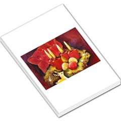 Holiday Candles  Large Memo Pads