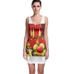 Holiday Candles  Bodycon Dresses
