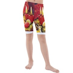 Holiday Candles  Kid s Swimwear
