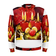 Holiday Candles  Men s Sweatshirts