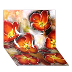 Fall Flowers Clover 3D Greeting Card (7x5)
