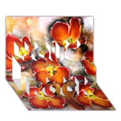 Fall Flowers You Rock 3d Greeting Card (7x5)