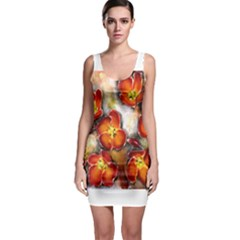 Fall Flowers Bodycon Dresses