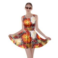 Fall Flowers Skater Dresses