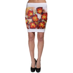 Fall Flowers Bodycon Skirts