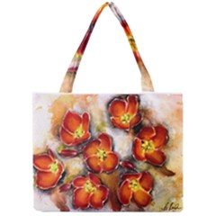 Fall Flowers Tiny Tote Bags