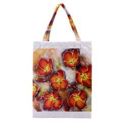 Fall Flowers Classic Tote Bags