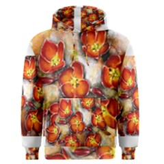 Fall Flowers Men s Pullover Hoodies