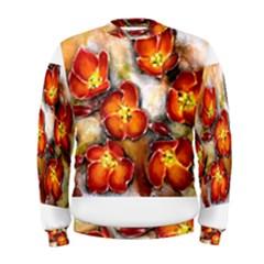 Fall Flowers Men s Sweatshirts