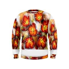 Fall Flowers Boys  Sweatshirts
