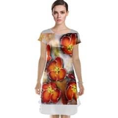 Fall Flowers Cap Sleeve Nightdresses