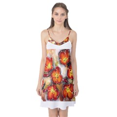 Fall Flowers Camis Nightgown