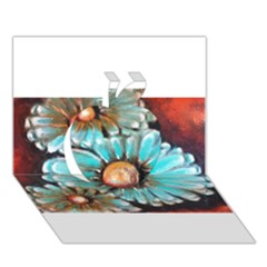 Fall Flowers No. 2 Apple 3D Greeting Card (7x5)