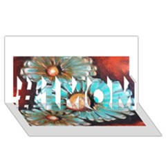 Fall Flowers No. 2 #1 MOM 3D Greeting Cards (8x4)