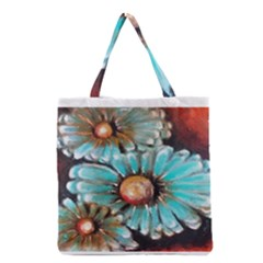 Fall Flowers No. 2 Grocery Tote Bags