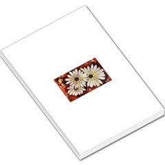 Fall Flowers No. 3 Large Memo Pads