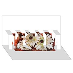 Fall Flowers No. 3 MOM 3D Greeting Card (8x4)