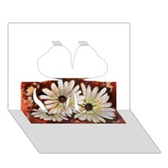Fall Flowers No. 3 Clover 3D Greeting Card (7x5)