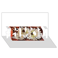 Fall Flowers No. 3 #1 MOM 3D Greeting Cards (8x4)