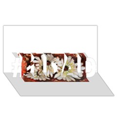 Fall Flowers No. 3 #1 DAD 3D Greeting Card (8x4)