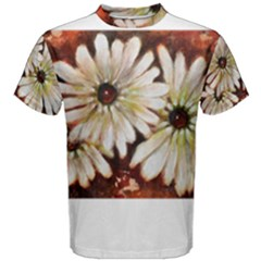 Fall Flowers No  3 Men s Cotton Tees